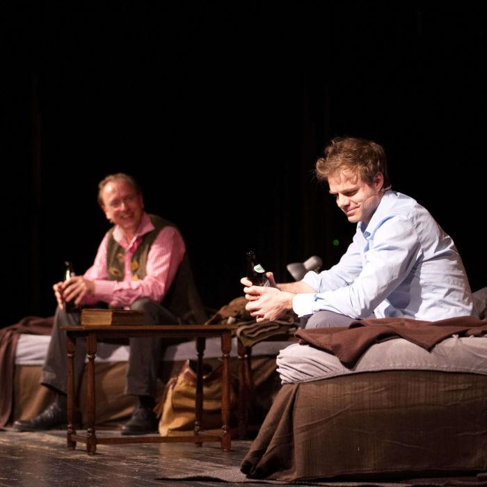 Benjamin Stoll & Rolf Dieter Degen in »Eine Nacht mit Luther«