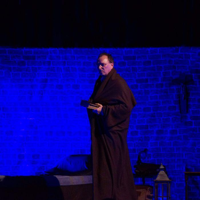 Rolf Dieter Degen in »Eine Nacht mit Luther«
