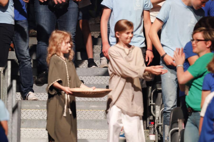 Das Pop-Oratorium ICH BIN in Leipzig mit Regisseur und Schauspieler Benjamin Stoll
