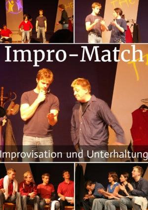 Benjamin Stoll beim Impro-Match