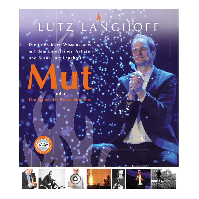 Plakat – Lutz Langhoff – Mut