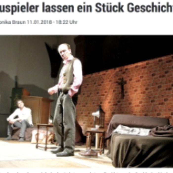 Bericht über »Eine Nacht mit Luther« in Baiersbronn