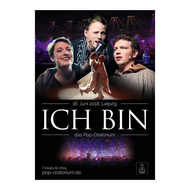 Cover Pop-Oratorium ICH BIN